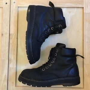 Dr. Martens Black Industrial Steel Toe Boots SZ-10